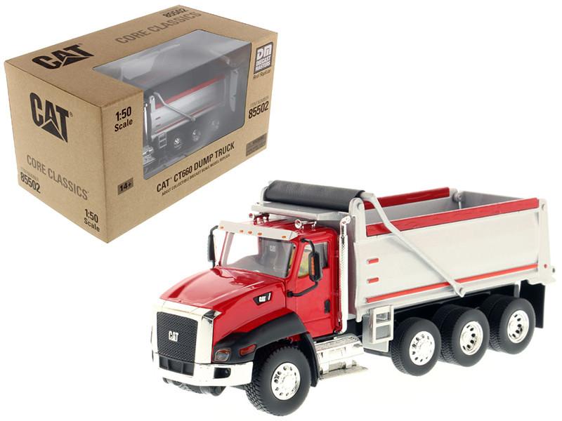 CAT Caterpillar CT660 Dump Truck Red Core Classics Series 1/50 Diecast Model Diecast Masters 85502 C