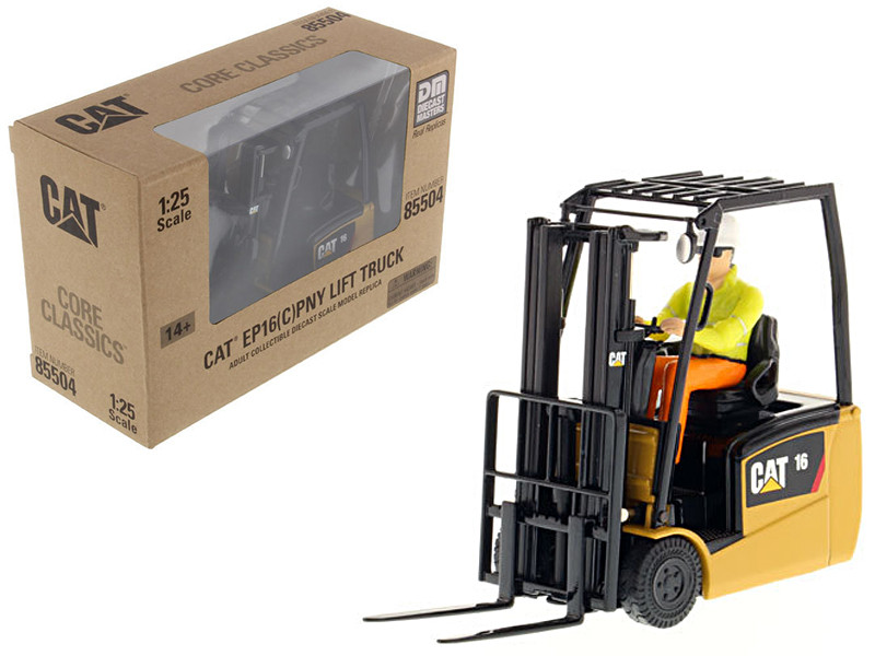 CAT Caterpillar EP16(C)PNY Lift Truck with Operator