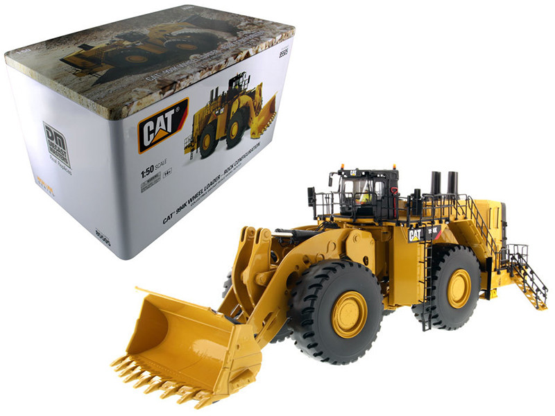 CAT Caterpillar 994K Wheel Loader with Rock Bucket and Operator \High Line Series\