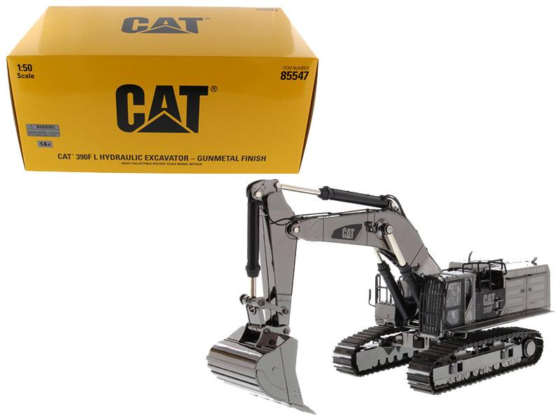 CAT Caterpillar 390F L Hydraulic Tracked Excavator Gunmetal \Commemorative Series\