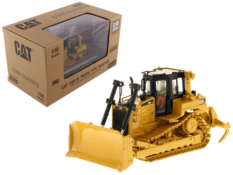 CAT Caterpillar D6R Track Type Tractor Core Classics Series with Operator 1/50 Diecast Model Diecast Masters 85910 C