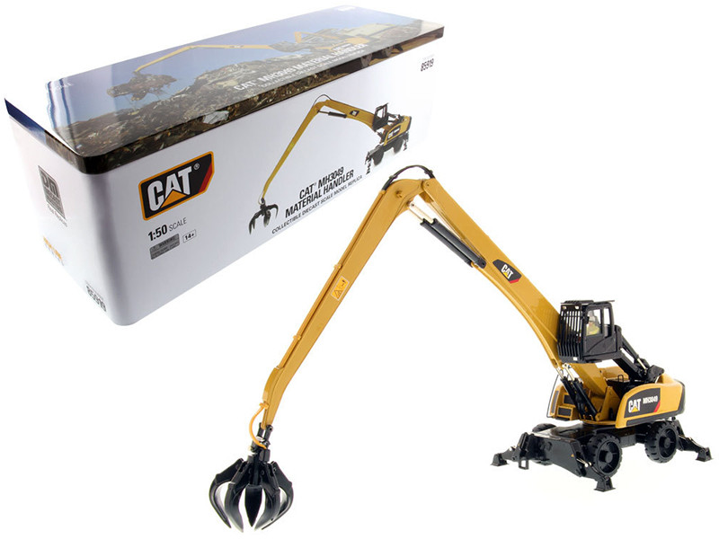 CAT Caterpillar 3049 Material Handler High Line Series with Operator 1/50 Diecast Model Diecast Masters 85919