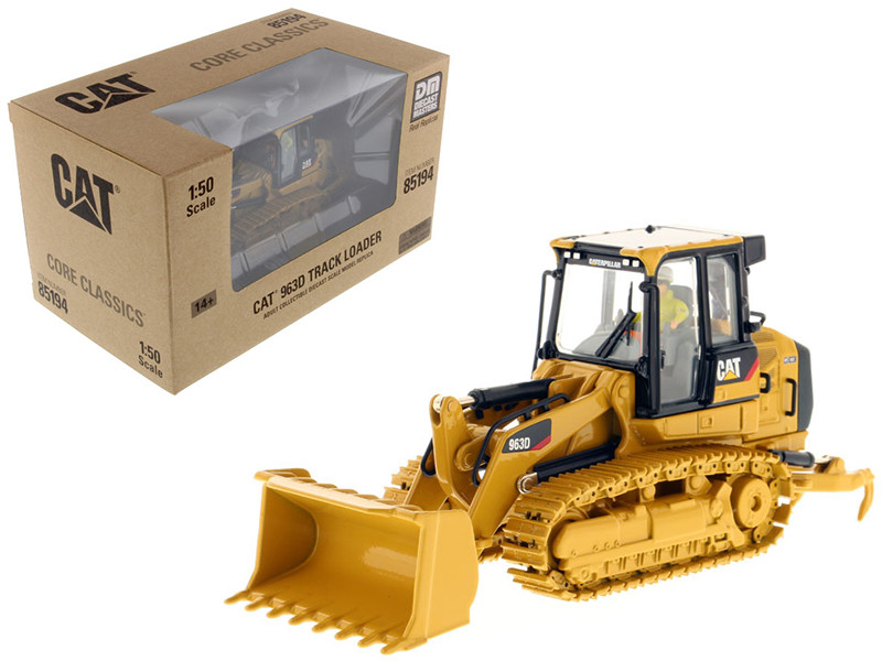 CAT Caterpillar 963D Track Loader with Operator Core Classics Series 1/50 Diecast Model Diecast Masters 85194