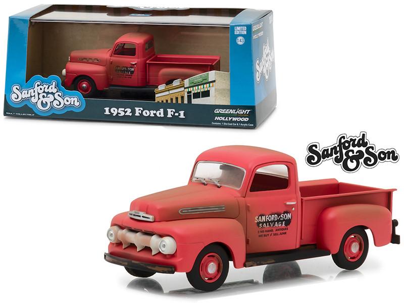 1952 Ford F-1 Pickup Truck Sanford Son 1972 1977 TV Series 1/43 Diecast Model Car Greenlight 86521