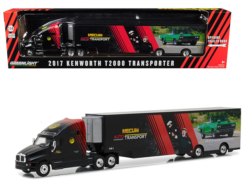 Kenworth T2000 Mecum Auctions Transporter Hobby Exclusive 1/64 Diecast Model Car Greenlight 29928