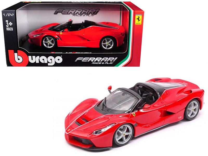 Ferrari LaFerrari F70 Aperta Red 1/24 Diecast Model Car Bburago 26022