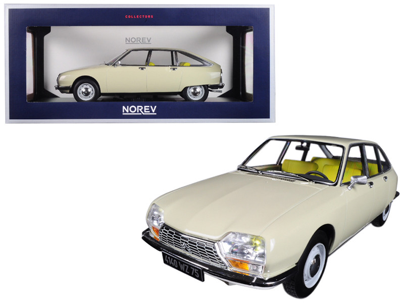1971 Citroen GS Erable Beige 1/18 Diecast Model Car Norev 181623