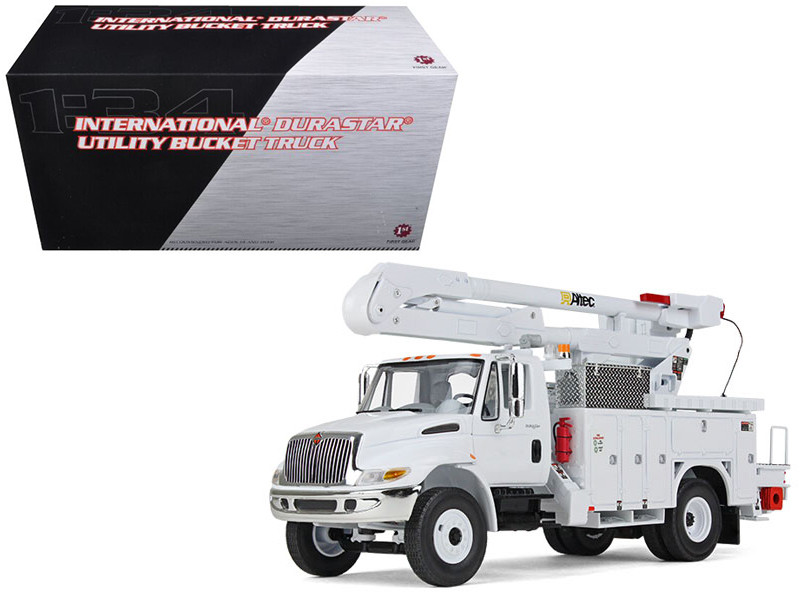 International Durastar Utility Bucket Truck 1/34 Diecast Model First Gear 10-3901
