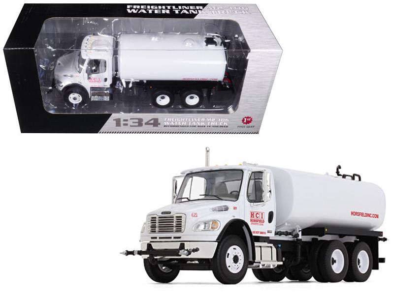 Freightliner M2-106 Water Tank Truck Horsfield Construction HCI 1/34 Diecast Model Car First Gear 10-4105