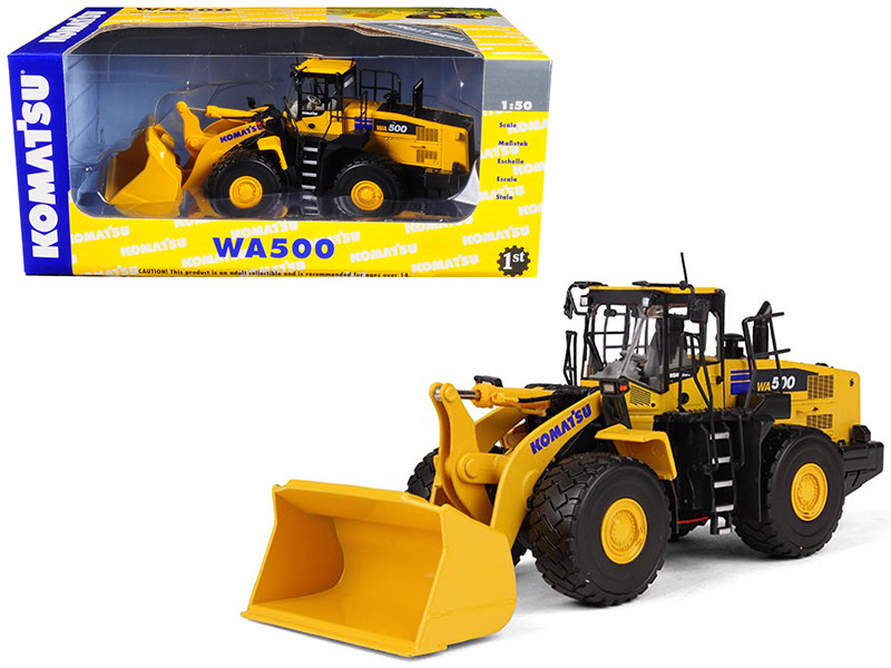 Komatsu WA500-7 Wheel Loader 1/50 Diecast Model First Gear 50-3262