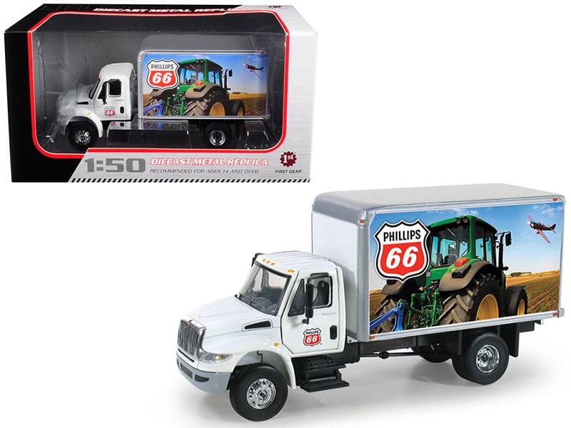International DuraStar Phillips 66 Delivery Truck 1/50 Diecast Model First Gear 50-3275