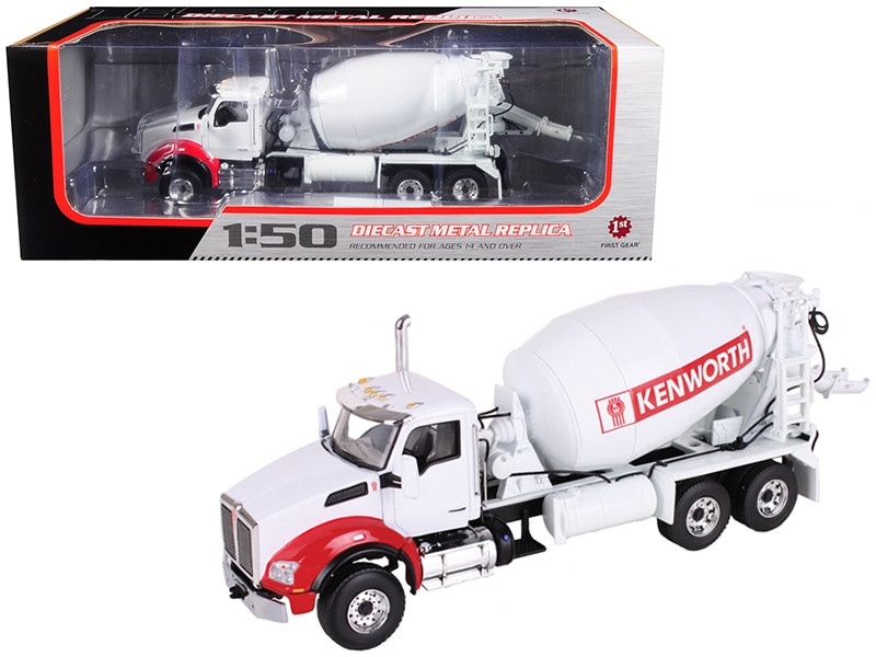 Kenworth T880 with Standard Mixer 1/50 Diecast Model First Gear 50-3317