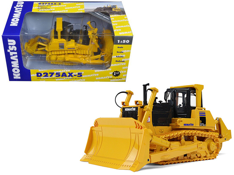 Komatsu D275AX-5 SIGMA Dozer with Ripper 1/50 Diecast Model First Gear 50-3341