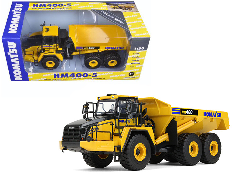 Komatsu HM400-5 Articulated Dump Truck 1/50 Diecast Model First Gear 50-3347