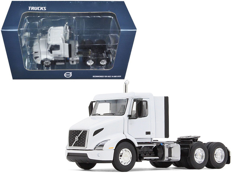 Volvo VNR 300 Day Cab White 1/50 Diecast Model Car First Gear 50-3366