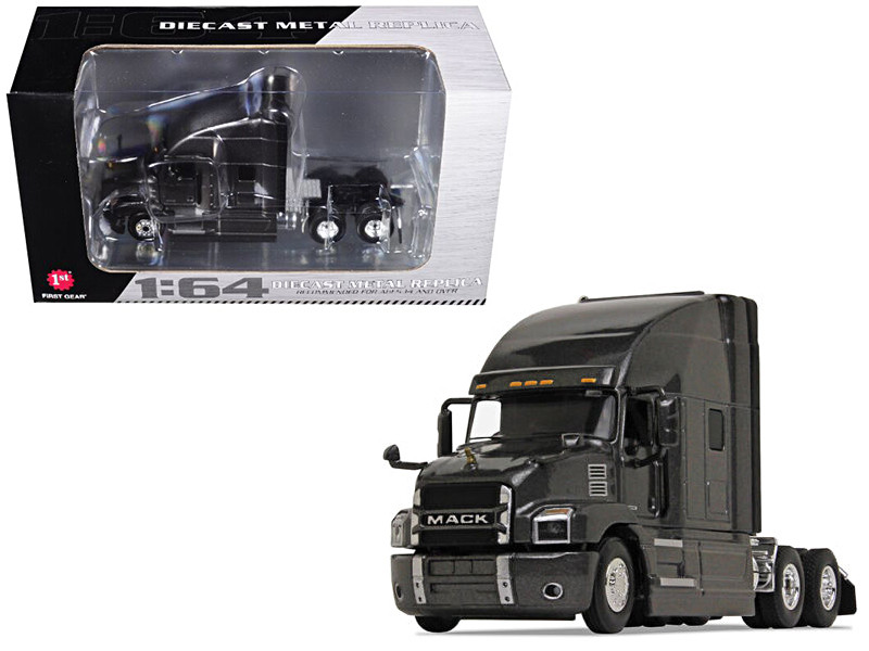 Mack Anthem Sleeper Cab Graphite Gray 1/64 Diecast Model First Gear 60-0364