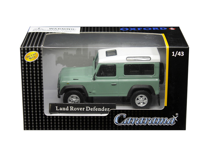 Land Rover Defender Light Green 1/43 Diecast Model Car Cararama 4-55240