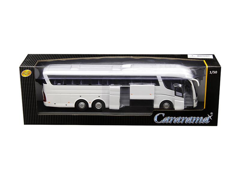 Scania Irizar Pb Bus White 1/50 Diecast Model Car Cararama 577-002 W