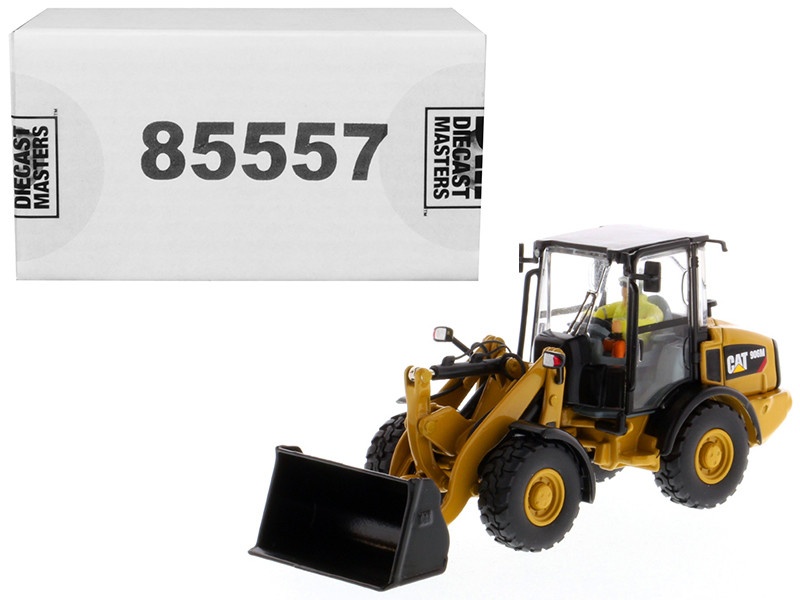 CAT Caterpillar 906M Compact Wheel Loader with Operator High Line Series 1/50 Diecast Model Diecast Masters 85557