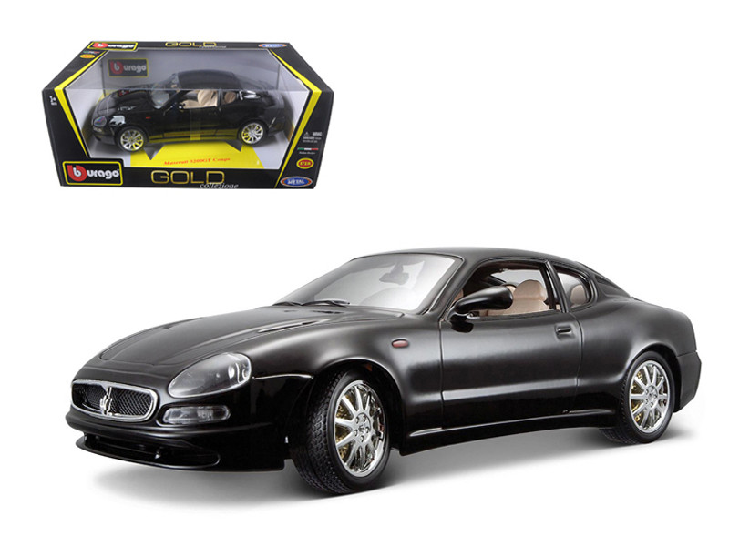 Maserati 3200 GT Coupe Black 1/18 Diecast Model Car Bburago  12031