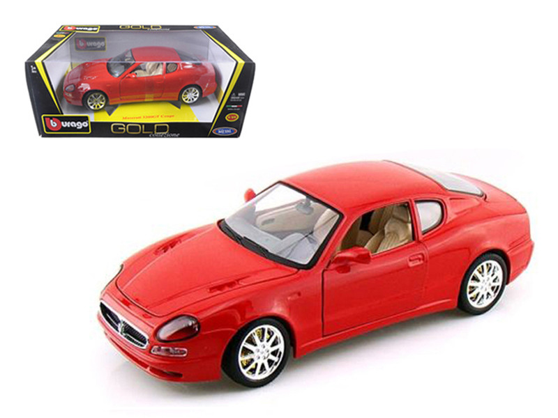 Maserati 3200 GT Coupe Red 1/18 Diecast Model Car Bburago  12031