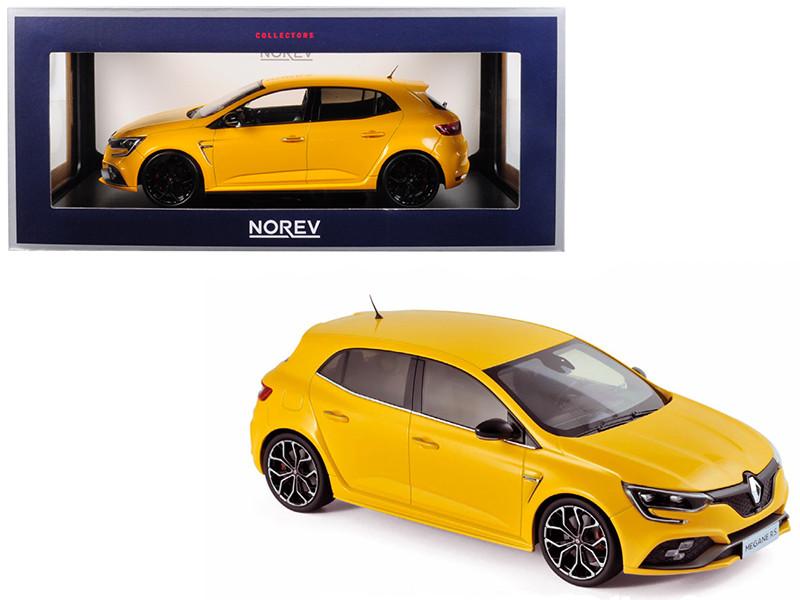 2017 Renault Megane R.S. Sirius Yellow 1/18 Diecast Model Car Norev 185226