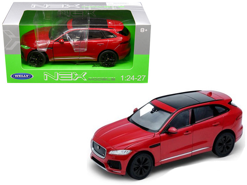 Jaguar F-Pace Red 1/24 1/27 Diecast Model Car Welly 24070