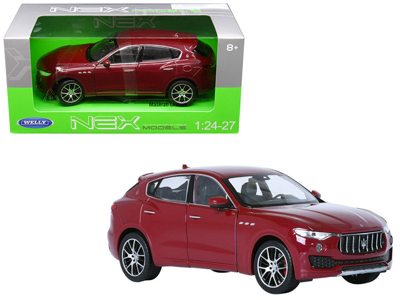 Maserati Levante Red 1/24 1/27 Diecast Model Car Welly 24078