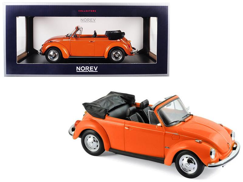 Volkswagen Vw Käfer 1303 Cabriolet 1972 Orange 1:18 Norev 188521 Neu Modellbau Autos, Lkw & Busse