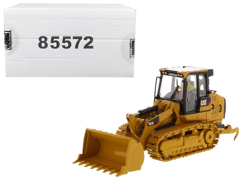 CAT Caterpillar 963K Track Loader Operator High Line Series 1/50 Diecast Model Diecast Masters 85572
