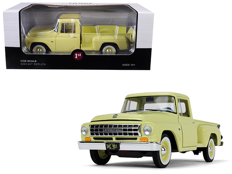 International C1100 Pickup Truck Sunshine Yellow 1/25 Diecast Model Car First Gear 40-0420