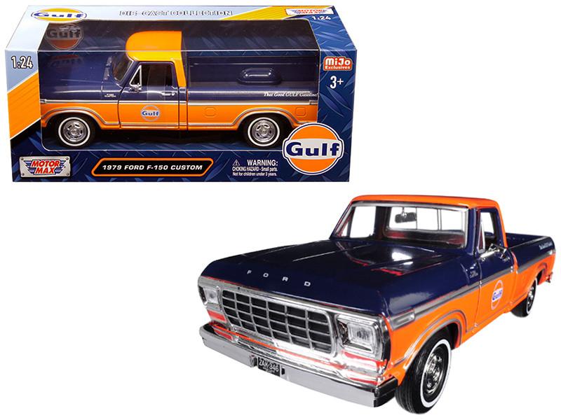 Ford F  Custom Pickup Truck Gulf Dark Blue Orange  Cast