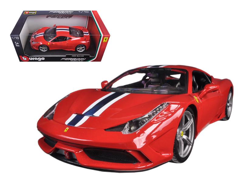 Ferrari 458 Speciale Red 1/18 Diecast Model Car Bburago 16002
