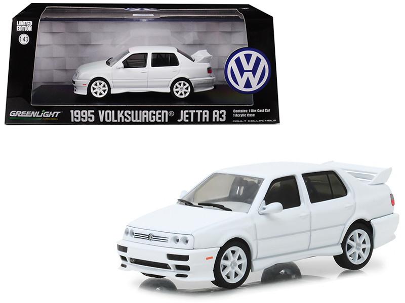 1995 Volkswagen Jetta A3 White 1/43 Diecast Model Car Greenlight 86322