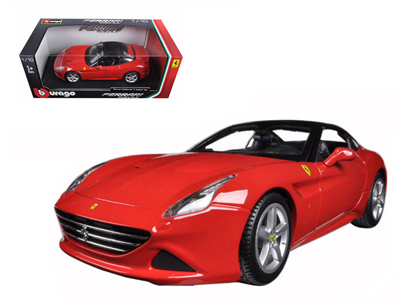 Ferrari California T (closed top) Red 1/18 Diecast Model Car Bburago 16003