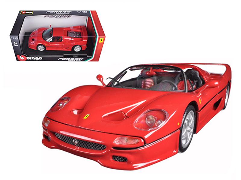 Ferrari F50 Red 1/18 Diecast Model Car Bburago 16004