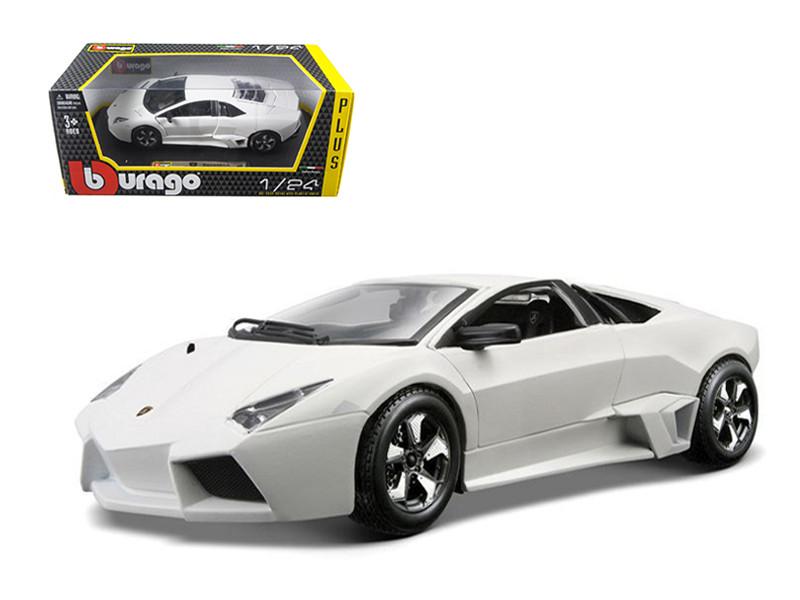 Lamborghini Reventon Matt White 1/24 Diecast Model Car Bburago 21041