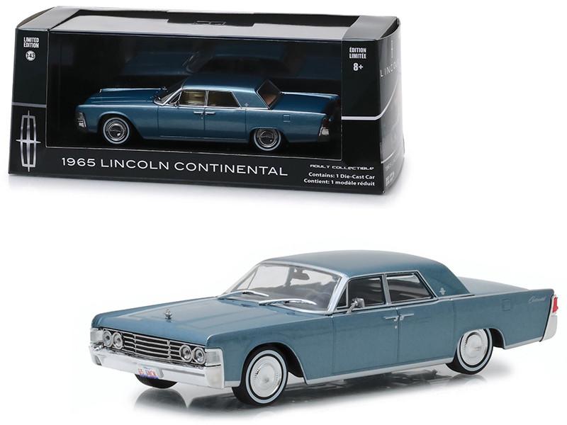 1965 Lincoln Continental Madison Gray Metallic 1/43 Diecast Model Car Greenlight 86329