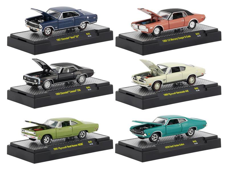 M2 Machines Detroit Muscle Release 47 /'66 Dodge Charger HEMI