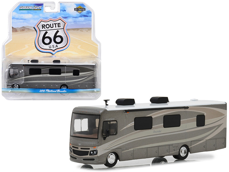 2016 Fleetwood Bounder Caramel Kiss Brown HD Trucks Series 14 1/64 Diecast Model Greenlight 33140 C