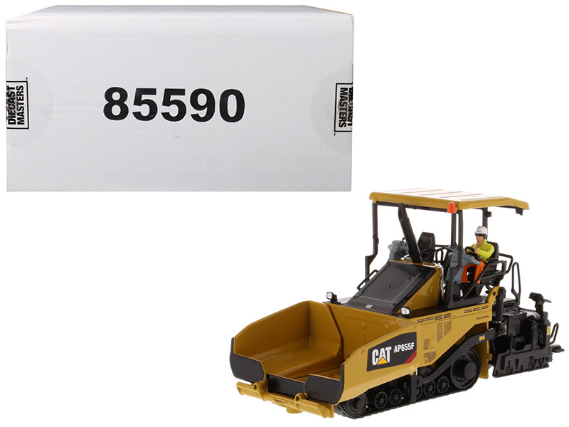 CAT Caterpillar AP655F Tracked Asphalt Paver Operator High Line Series 1/50 Diecast Model Diecast Masters 85590