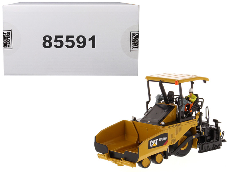CAT Caterpillar AP600F Wheeled Asphalt Paver Operator High Line Series 1/50 Diecast Model Diecast Masters 85591