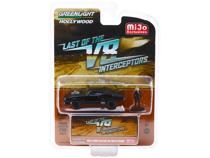 1973 Ford Falcon XB Figure The Last of the V8 Interceptors 1979 Movie Limited Edition 4600 pieces Worldwide 1/64 Diecast Model Car Greenlight 51208