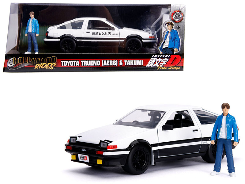 Toyota Trueno (AE86) with Takumi Diecast Figure \Initial D First Stage\