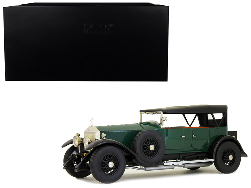 Rolls Royce Phantom I Green Black Interior 1/18 Diecast Model Car Kyosho 08931 G