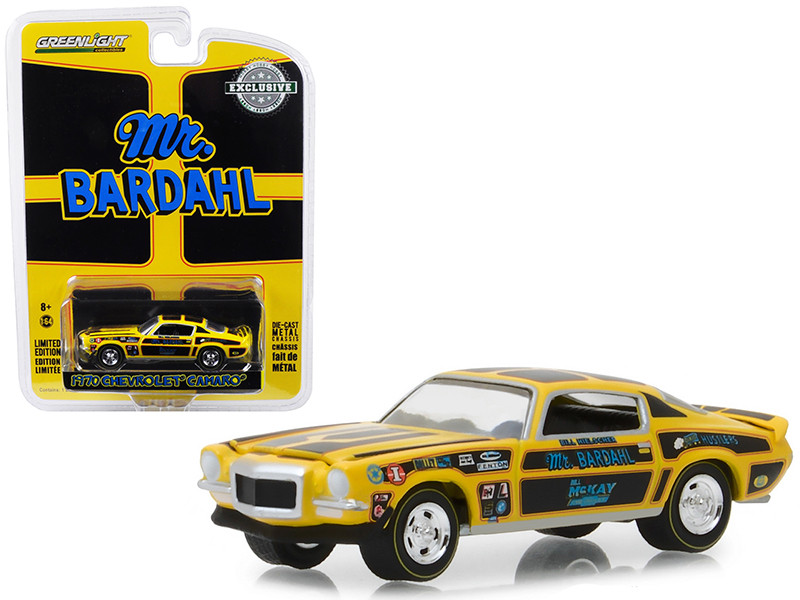 1970 Chevrolet Camaro Mr Bardahl Hobby Exclusive 1/64 Diecast Model Car Greenlight 29989