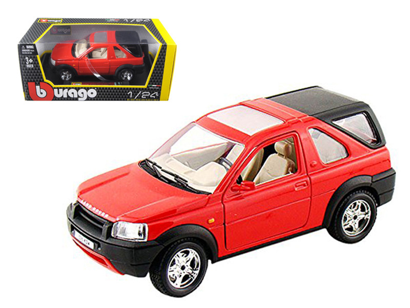 Land Rover Freelander Red 1/24 Diecast Model Car Bburago 22012
