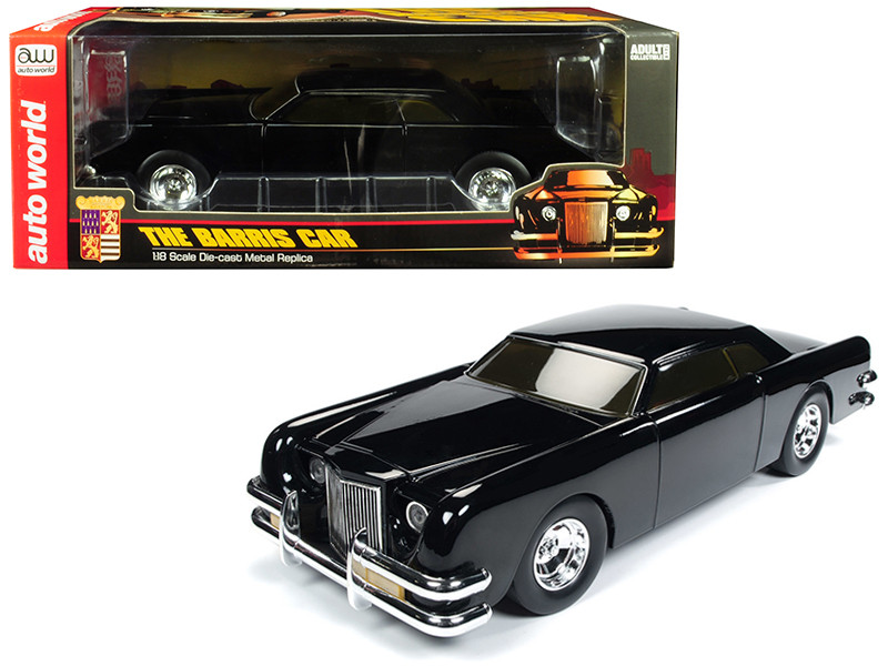 The Barris Car Black Sparkle 1/18 Diecast Model Car by Autoworld