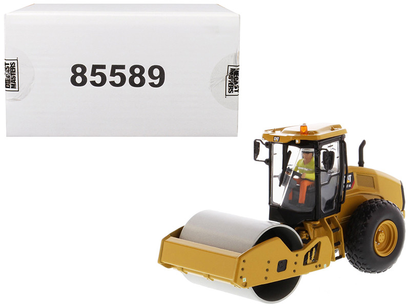 CAT Caterpillar CS11 GC Vibratory Soil Compactor Operator High Line Series 1/50 Diecast Model Diecast Masters 85589