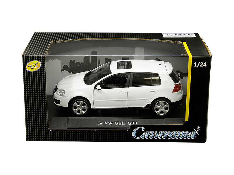 Volkswagen Golf GTI with Sunroof White 1/24 Diecast Model Car by Cararama